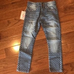 Other - NWT girls polka dot jeans